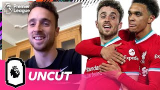 Diogo Jota on Liverpool, FIFA 21 & Trent Alexander-Arnold | Uncut | AD