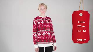 deers womens christmas sweater jollychristmassweaters