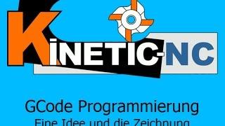 KinetiC-NC - G-Code Programmierung Beispiel : Tutorial Frontplatte