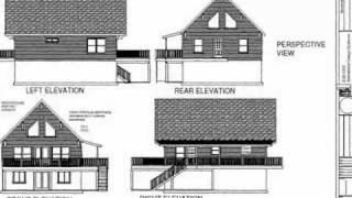 PDF Barn Plan - Plan #178 Custom Cabin Design
