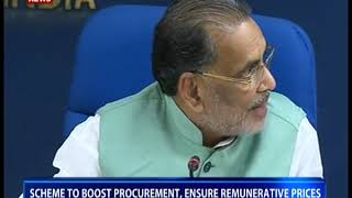 Cabinet approves Umbrella PM AASHA Scheme