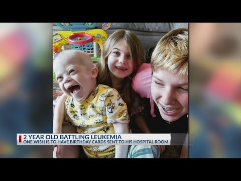 Andi and Kenny  - Daily Do Good: Send 2-Year-Old Boy Battling Leukemia Birthday Card!