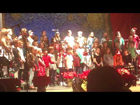 Mary r fisher elementary school 2017 holiday concert fourth grade