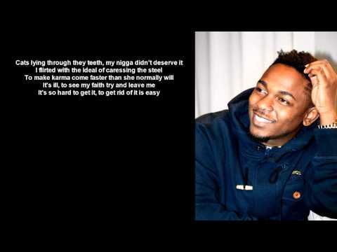 Kendrick Lamar - Faith ( Lyrics on screen ) HD