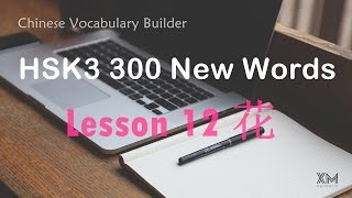 🏵💳 Chinese Vocabulary Builder - HSK3 300 New Words - Lesson12 花 Spend