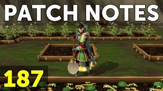 RuneScape Patch Notes #187 - 18th September 2017