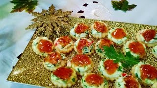 Mango Chutney & Chili Jelly Appetizers (Holiday Appetizers) by Helen M. Radics