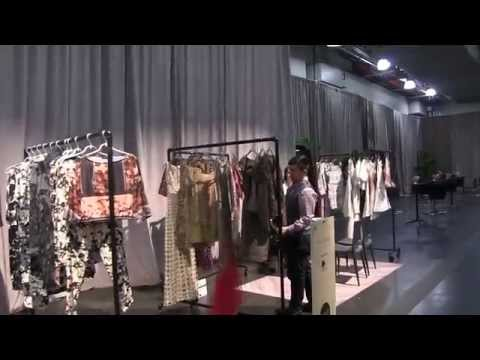 New York. Javits Center Fashion Trade Show MODA EDIT