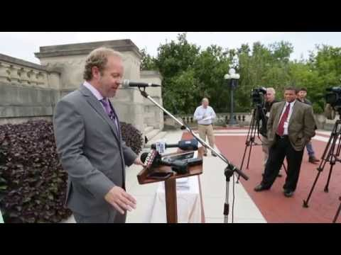Independent Drew Curtis announcement speech.
