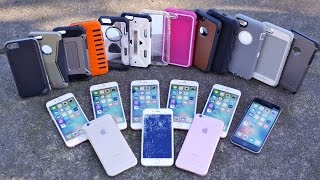 Top 12 iPhone 6S Cases Drop Test Part 2! Most Durable iPhone 6S Case?(Best iPhone 6S Case That's Also Most Durable? Top 12 iPhone 6S Cases Drop Test From 50 Feet! Real 6S Phones This Time! Part 2 HERE: ..., 2015-11-26T18:24:33.000Z)