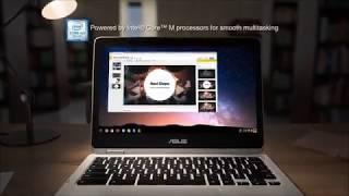 ASUS Chromebook Flip C302CA DH54 12 5 inch Touchscreen Convertible Chromebook Intel Core