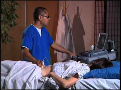 preparation for abdominal ultrasound exam