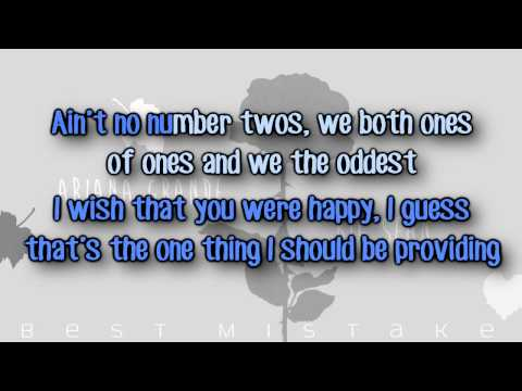 Ariana Grande - Best Mistake (feat. Big Sean) Karaoke/Instrumental