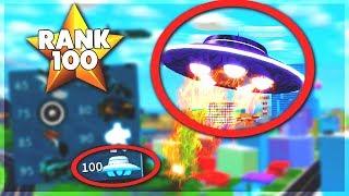 UNLOCKING UFO AT RANK 100 *SEASON 4* ALL REWARDS | Mad City Update (ROBLOX)