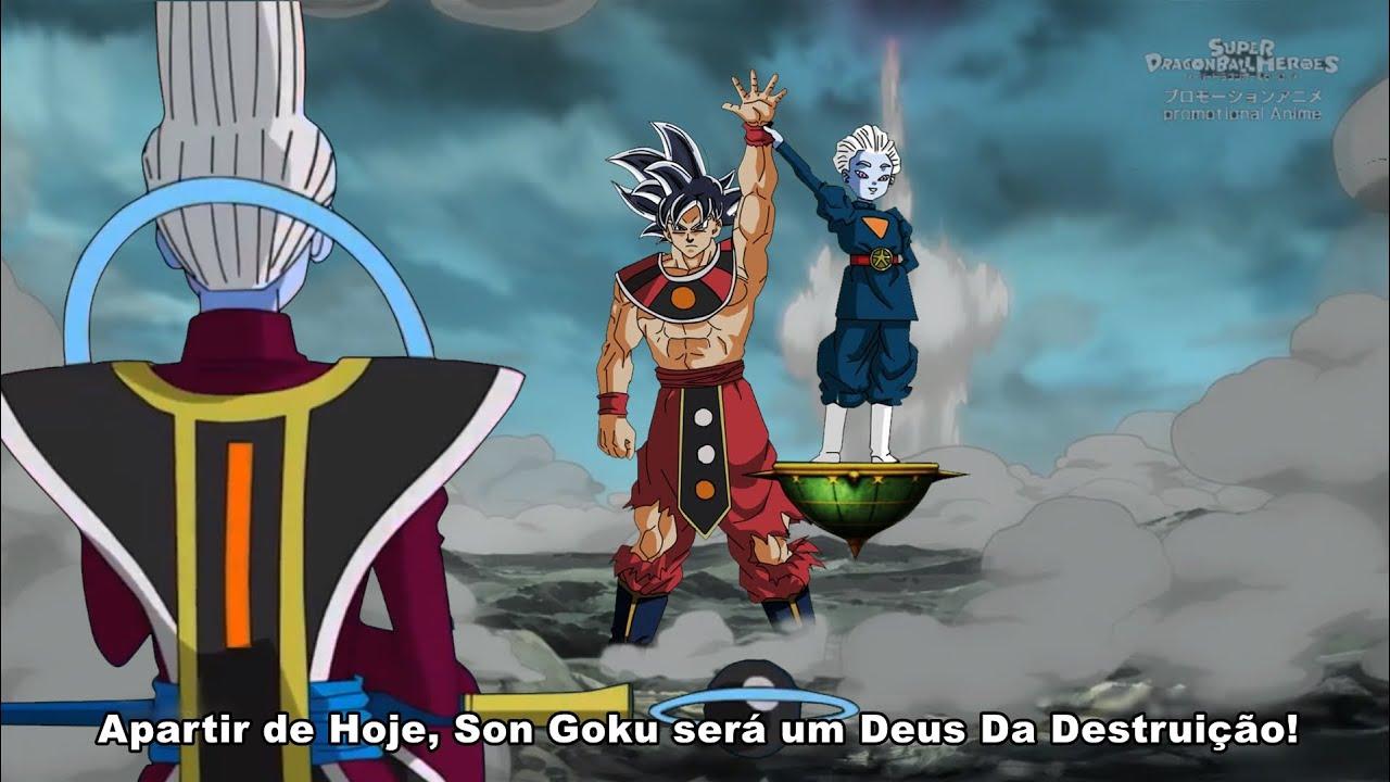 O Treinamento De um Novo Deus Da Destruição! O Novo Poder Supremo de GOKU (Episodio 04 COMPLETO)