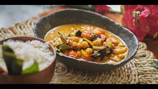 Sutharos Organic Vegan Thai Red Curry Meal Kit