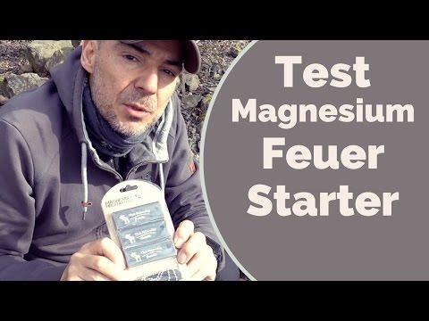 Test Magnesium Feuerstarter von The Friendly Swede
