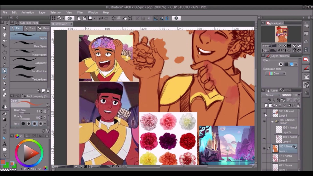 Bow She Ra And The Princesses Of Power Fanart Speedpaint Youtube
