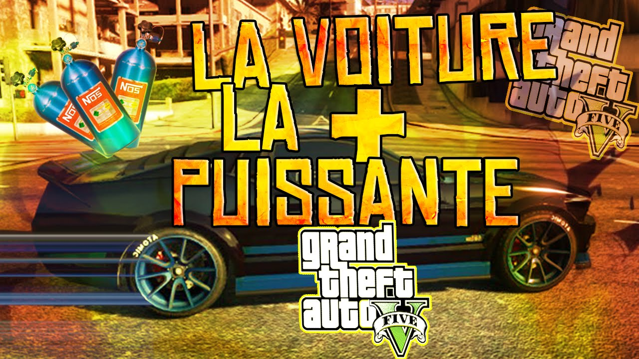 voiture la plus puissante de gta 5 nitro sur gta 5 online youtube. Black Bedroom Furniture Sets. Home Design Ideas