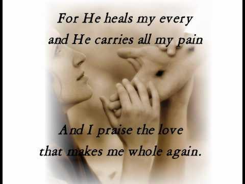 """Whole Again""  ""...he hath sent me to heal the brokenhearted..."" (Luke 4:18 KJV)"