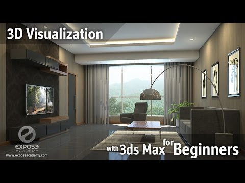 3D Visualization for beginners | Learn 3ds Max, Corona and Photoshop