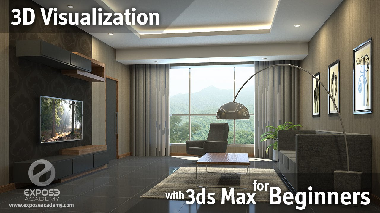3d Visualization For Beginners Learn 3ds Max Corona And Photoshop Youtube