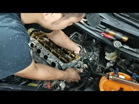 Kia Rio overheat problem issue   Head Gasket Replacement   Part 1