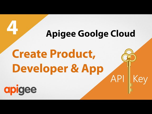 How to Generate API Key to Use in Header | Google Cloud Apigee Tutorial