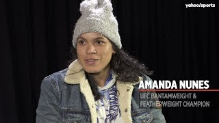 Amanda Nunes on evolving as a fighter and her rematch with Germaine de Randamie at UFC 245