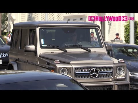 Sylvester Stallone Cruises Through Beverly Hills In His Custom Mercedes-Benz G-Wagon 5.27.16