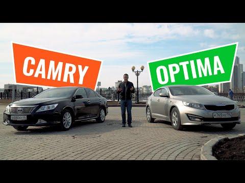 Toyota Camry против KIA Optima. Что лучше — Тойота Камри или КИА Оптима?