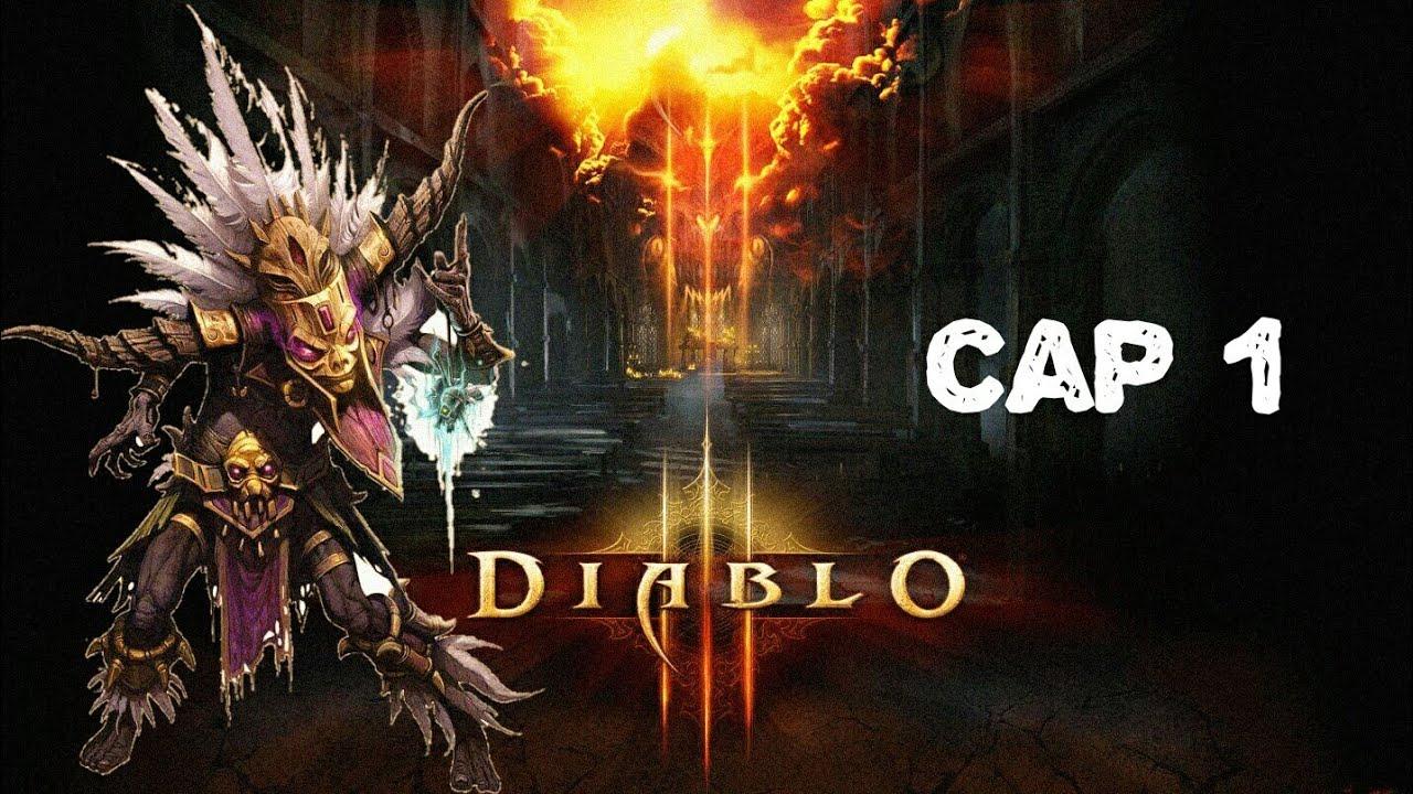 diablo lll gameplay en español ( acto 1 )
