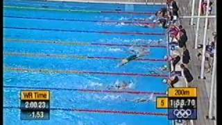 2000 | Australia Olympic Silver | Womens 4x200 Free Relay | ONeill Rooney Thomson Thomas | 1 of 2