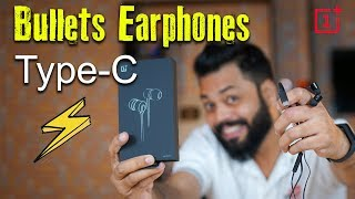 ONEPLUS TYPE-C BULLETS EARPHONES : Unboxing and Quick Review⚡⚡⚡