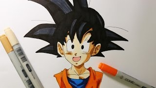 Comment dessiner Goten Dragon Ball Z