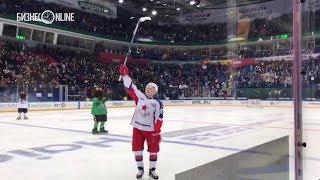 Капризов благодарит болельщиков «Салавата Юлаева»