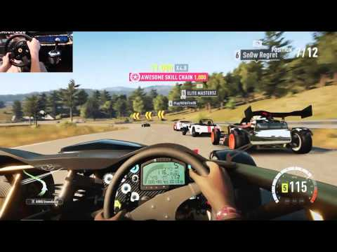 Forza Horizon 2 LP Ep22 Ice Milk / Ariel Atom V8 w/Thrustmaster Wheel Cam
