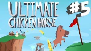 Stumpt Plays - Ultimate Chicken Horse - #5 - Over and Under