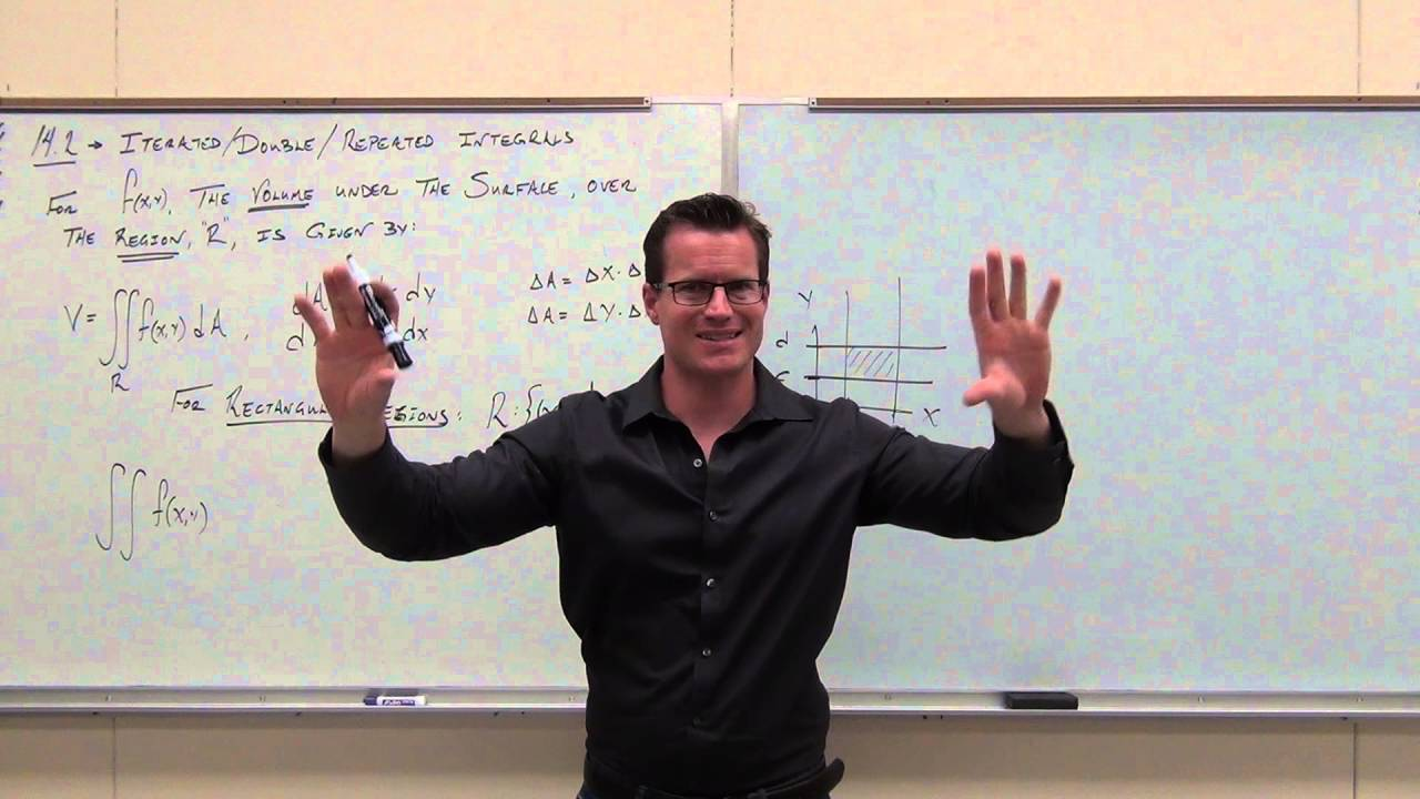 calculus 3 lecture 14 2 how to solve double repeated iterated