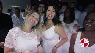 Festa de final do ano do banco Santander com show de escola de samba The History