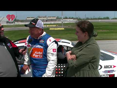 Meaghan's Ride Along WIth Kenny Schrader At Toledo Speedway