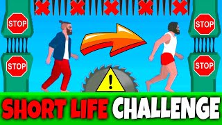 SHORT RIDE LIKE SHORT LIFE - NO VEHICLES CHALLENGE - SHORT RIDE WALKTHROUGH WITHOUT VEHICLES (HD)