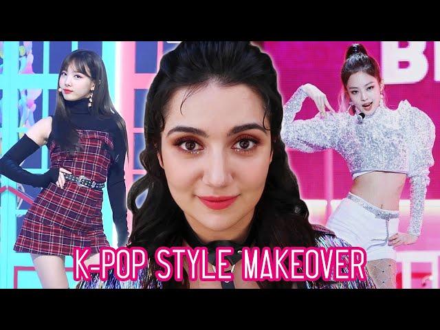 I Got A K-Pop Makeover