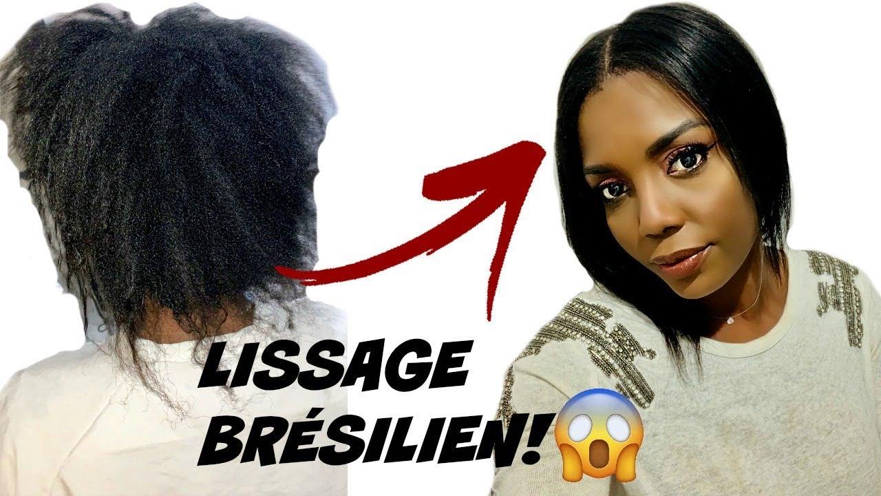lissage br silien sur cheveux afro avant apr s je teste pour vous vlog youtube