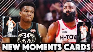 DIAMOND GIANNIS & PINK DIAMOND HARDEN ARE INCREDIBLE!! | New Moments Cards In NBA 2k20 MytEAM