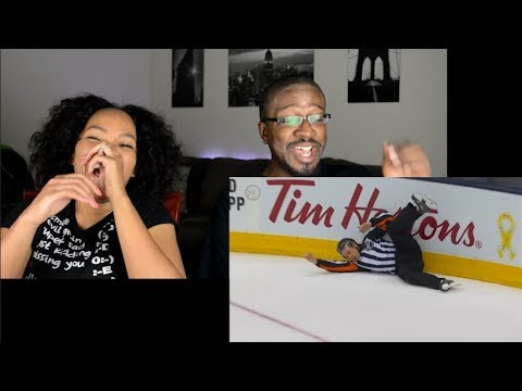 Top 5 Hardest Hits On Refs of All Time _ NHL REACTION