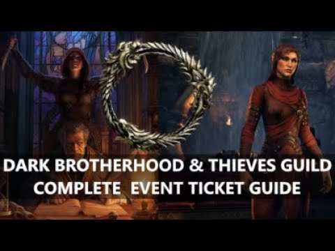 ESO l Dark Brotherhood & Thieves Guild Event, COMPLETE GUIDE