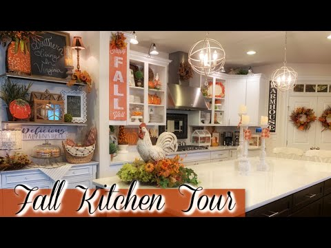 FALL KITCHEN TOUR PLUS A SPECIAL ANNOUNCEMENT!! 🍁 🍃 🍂