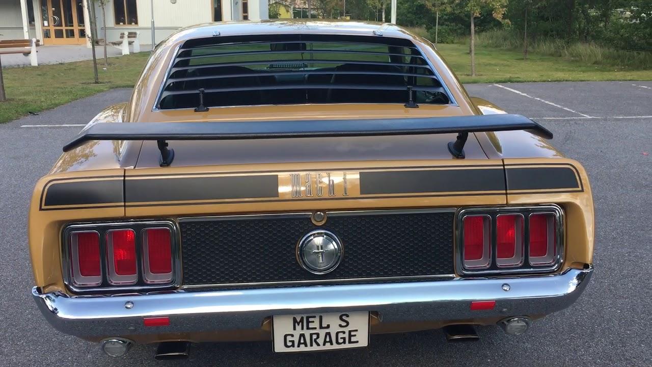 Ford mustang 1 sportsroof 1970 såld sold