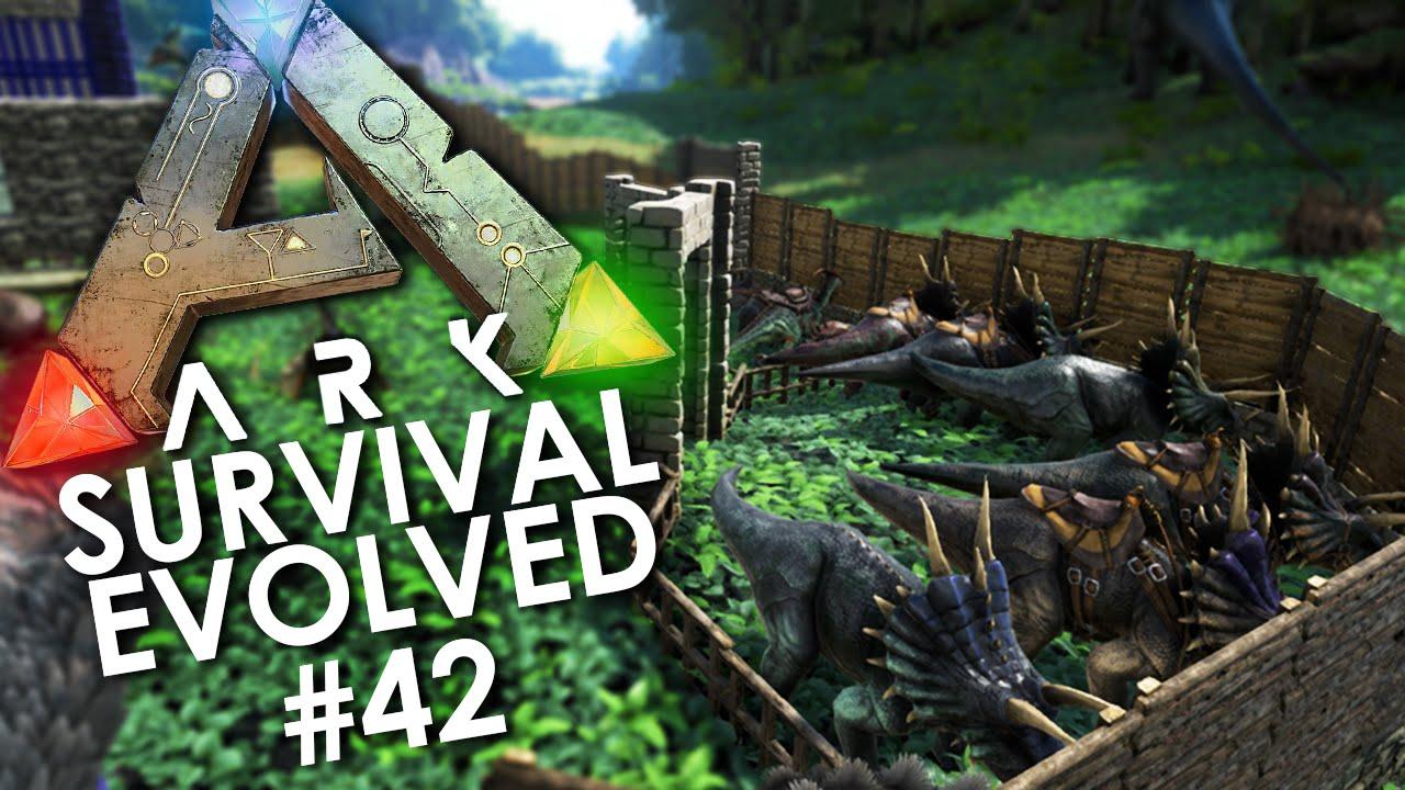 ark how to build a dinosaur enclosure